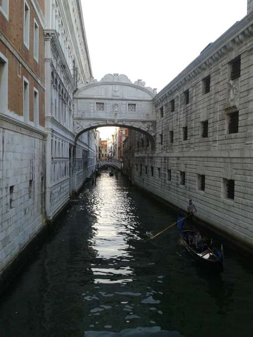 Venice Bridges Vacations Italy Romance Water