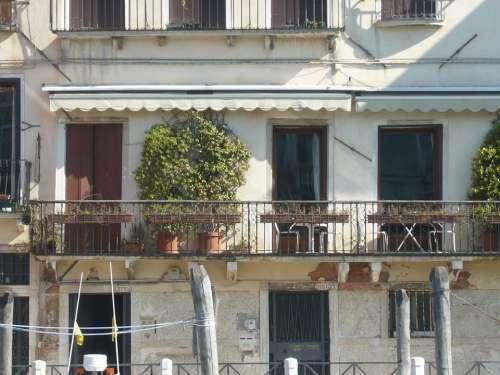 Venice Italy Balcony