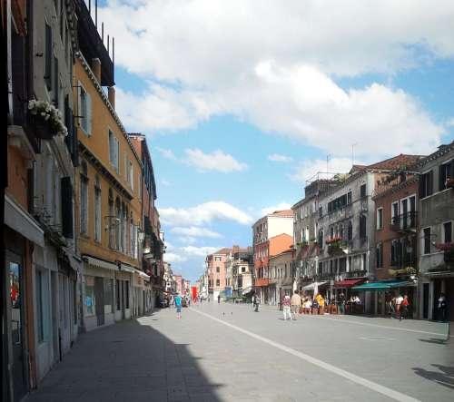 Venice Castle Road Via Via Garibaldi