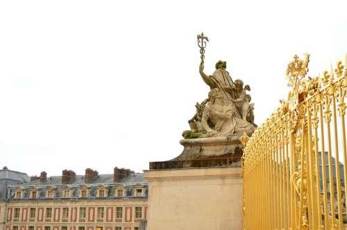 Versailles Castle Baroque France Gold Splendor