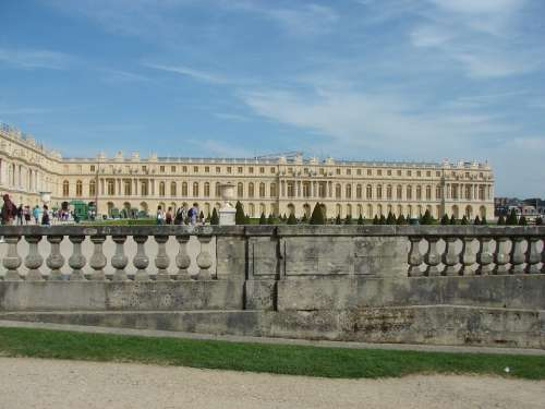 Versailles Castle Architecture France Garden