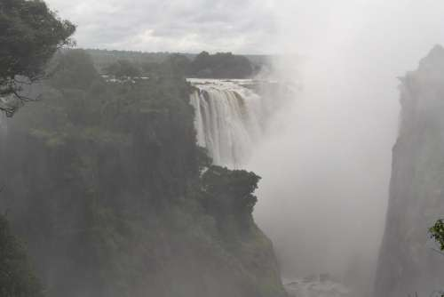 Victoria Falls Spray Travel