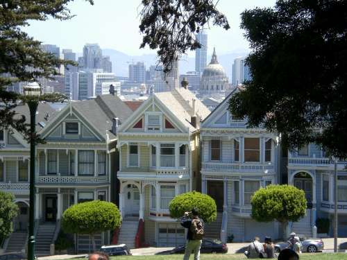 Victorian House Painted Ladies San Francisco