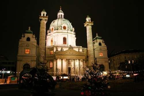 Vienna St Charles'S Church Austria Church