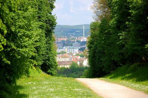 Vienna Schönbrunn Castle Park Trail Away Nature