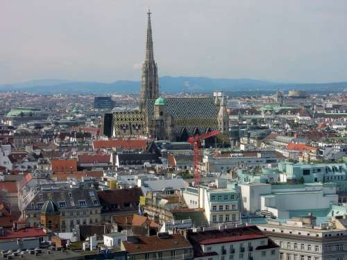 Vienna St Stephan'S Cathedral Dom City Good View