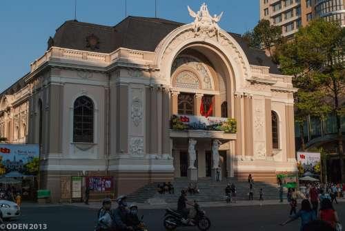 Vietnam Ho Chi Minh City Saigon Municipal Theatre