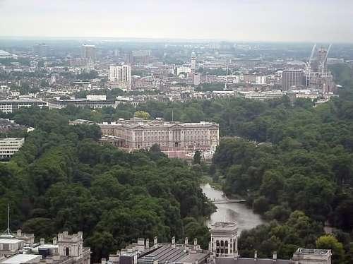 View Buildings Pond Landscape London Buckingham