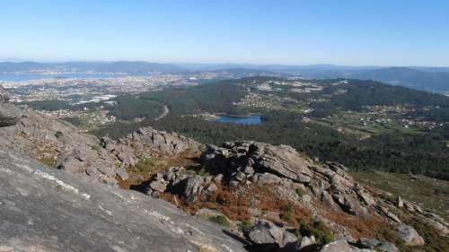 Vigo Mount Galiñeiro Landscape