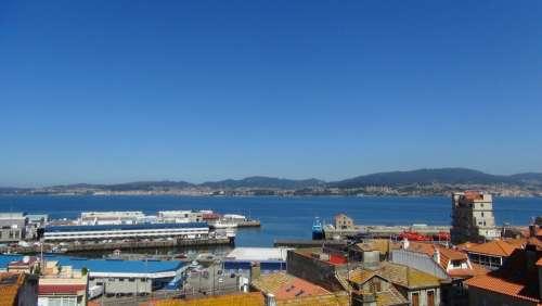 Vigo City Ria Urban Landscape