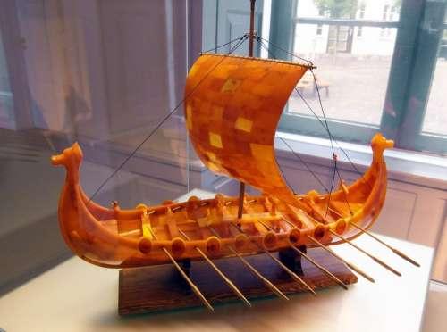 Viking Ship Sail Historically Helm Viking