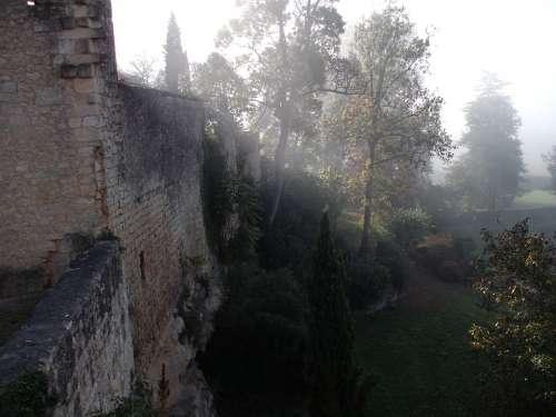Village France Wall Fog
