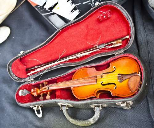Violin Old Instrument String Musical Music