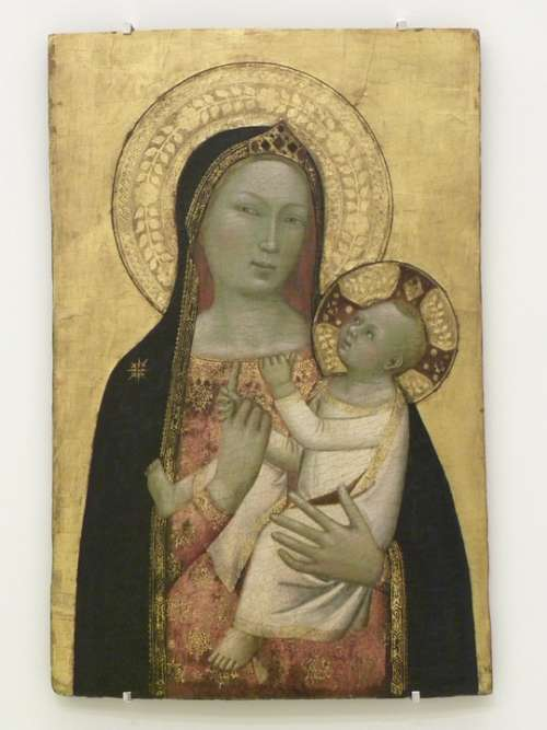 Virgin Mary Child Mother And Child Jesus Art