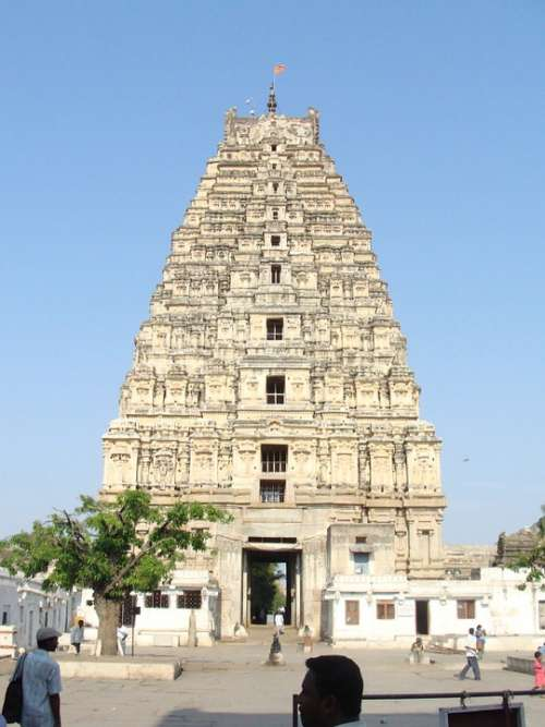 Virupaksha Temple Hampi Unesco Site Karnataka India