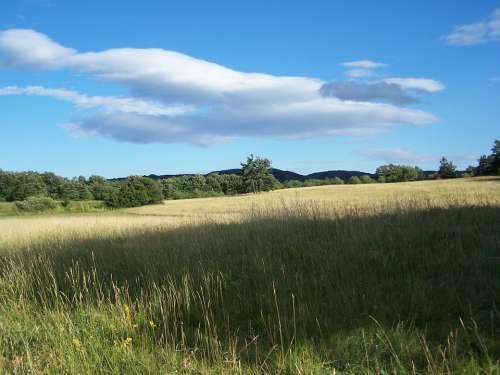 Visegrád Sky Blue Landscape