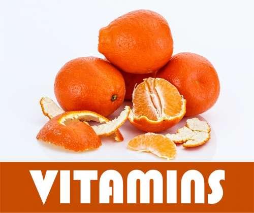 Vitamins Orange Fruit Health A Healthy Diet