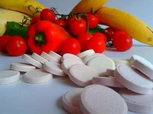 Vitamins Tablets Cure Pharmacy Tablet