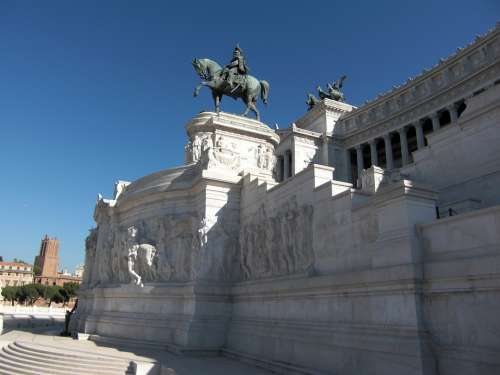 Vittorio Emanuele Rome Italy National Museum