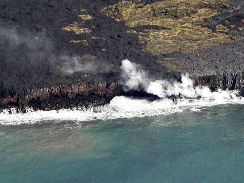 Volcano Hawaii Lava Phenomena Scenery Hot