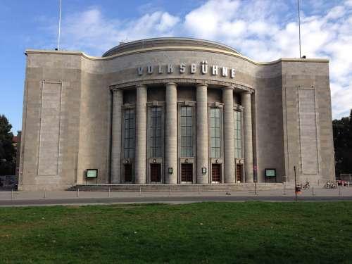 Volksbühne Berlin Culture Capital Architecture
