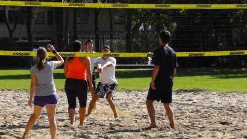 Volleyball Sport Ball Play Beach Volley Play Ball