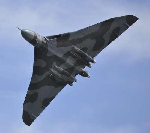 Vulcan Bomber Bomber Jet Aircraft Flight