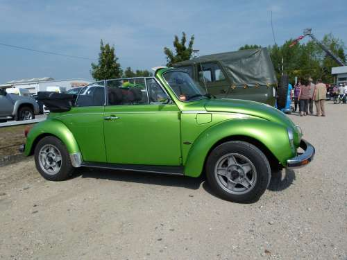 Vw Vw Beetle Oldtimer Automobile Vehicles