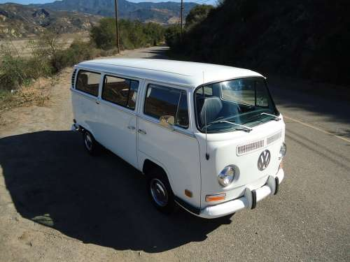 Vw Volkswagen Car Automobile Vintage Bus Type 2
