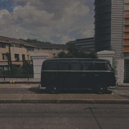 Vw Campervan Road Motor Retro Transport Vehicle