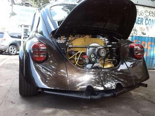 Vw Beetle Volkswagen Engine Motor Car Vintage Car