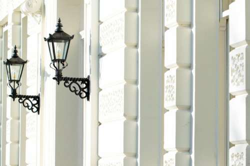 Wall House Architecture England Lamps Lights