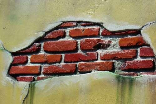 Wall Pattern Stones Bricks Brick Facade