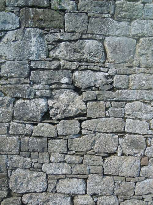 Wall Rocks Texture Building Surface Gray