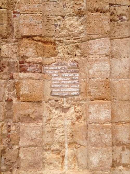 Wall Texture Stone Architecture Spain San Juan