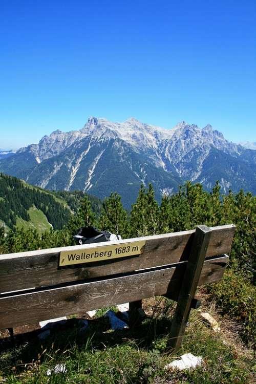 Waller Mountain Summit Bank Mountain Mountains