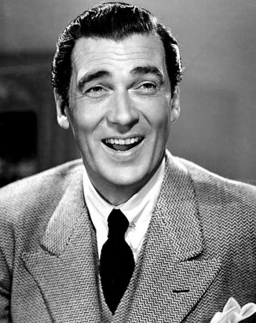 Walter Pidgeon Actor Motion Pictures Stage