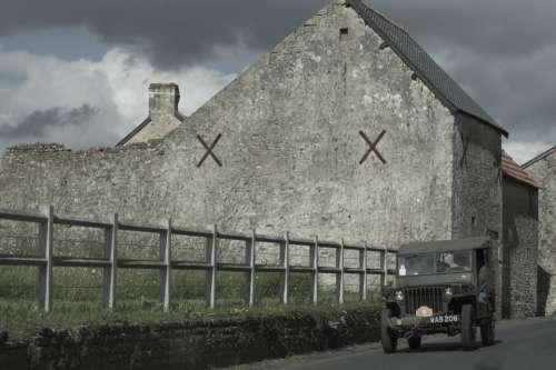 War Military House Second World War Normandy