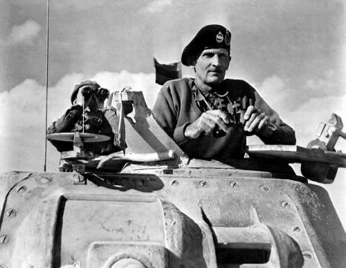 War World War Bernard L Montgomery 1942 Ww 2 Ww Ii