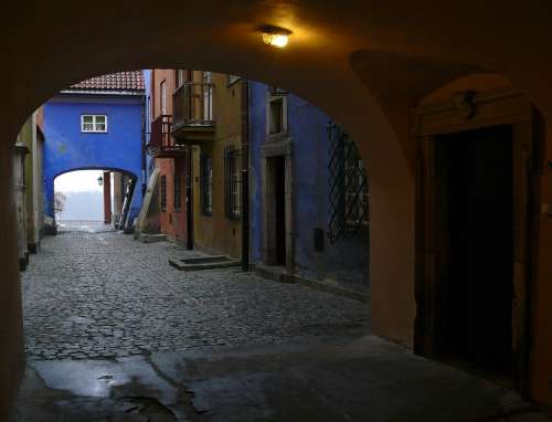 Warsaw Old Town Alley