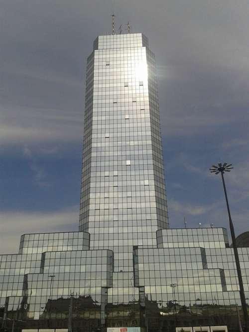 Warsaw Poland Skyscraper