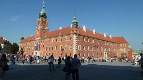 Warsaw Schlossplatzfest Royal Castle