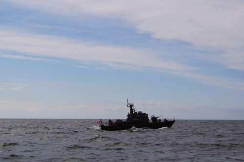 Warship Torpedo Boat Baltic Sea Ship Boat