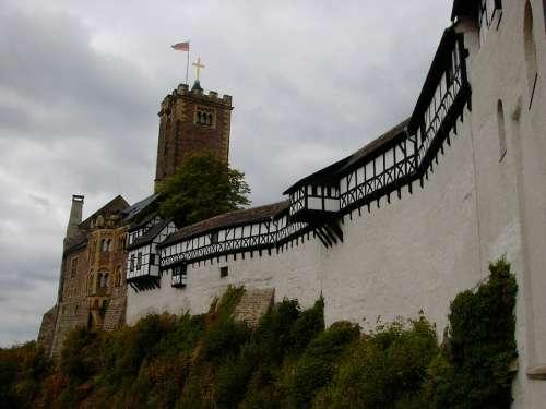Wartburg Castle Eisenach Thuringia Germany