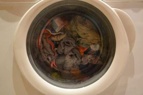 Washing Machine Wash Clean Cleaning Washing