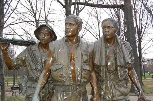 Washington Dc Vietnam Memorial Mall Monument