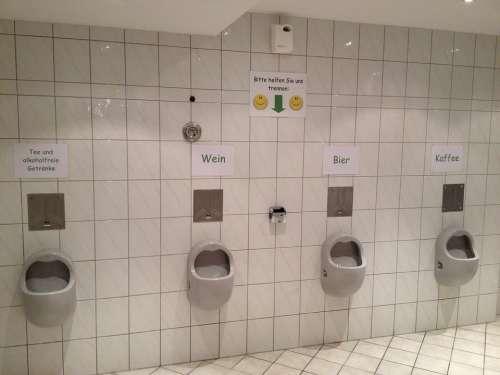 Waste Separation Toilet Porcelain Urinals