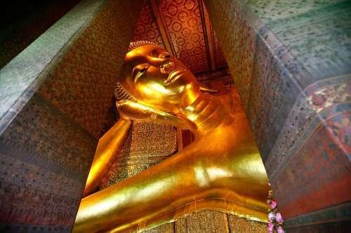 Wat Po Wat Po Temple Thailand Bangkok Tourism