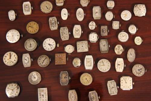 Watches Wristwatches Collection Clocks Time Hours