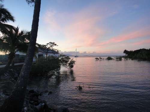 Water Mood Atmosphere Abendstimmung Romance